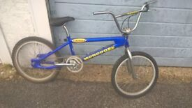 Mongoose FX 1 Fuzz BMX Bike Bicycle Fuzzy Hall