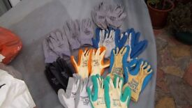 10 pr high quality work gloves as photo