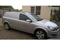 2007 VAUXHALL ASTRA VAN 1.7 SPORTIVE CDTI SILVER with new clutch, dual mass flywheel and brakes!