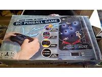 RC PINBALL MACHINE GAME BRAND NEW