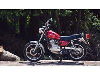 Suzuki GN 125 motorbike brand new engine and gearbox rebuild.