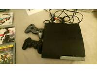 PlayStation 3 with 7games