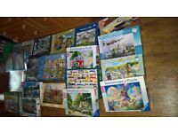 job lot jigsaw puzzles 1000 pieces £2 each All complete
