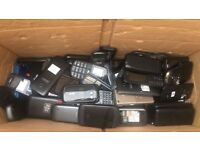 Job lot of 500 mixed makes of mobile phones
