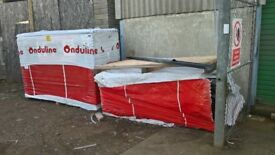 onduline roof sheets black ridge nails gutter bitumen corrugated quality material
