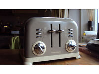 Used Morphy Richards Barley 4 Slice Toaster with Variable Width Slots & High Lift