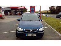 Zafira 7 seater diesel