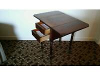 Queen Anne occasional sewing table