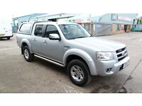 FORD RANGER THUNDER DOUBLE CAB 3.0 TDCI 4WD AUTO FULL LEATHER 2009 4X4 PICK UP