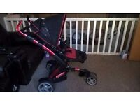 Buggy or Pram or Buggie with carry cot and car seat on sale - REDUCED