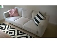Ikea 3 seater settee nearly new