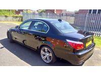 BMW 5 series , 2 owners frim new , 2 keys , part history , MOT , Full hd dash camera