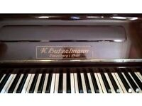 EISENBERG (K.BUTZELMANN) UPRIGHT PIANO
