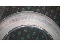 Yokohama geolander g900 part worn tyre