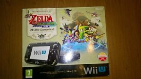 Nintendo wii with box and 3 games and extra official wii Pad.