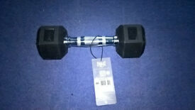 Single 3.5kg Lonsdale Hex Dumbell Brand New & Tagged