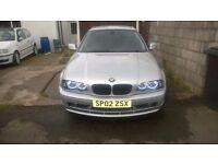 BMW e46 318 2002 2l petrol