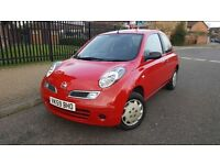 2009 Nissan Micra 1.2 acenta 2 Lady owners FSH new mot