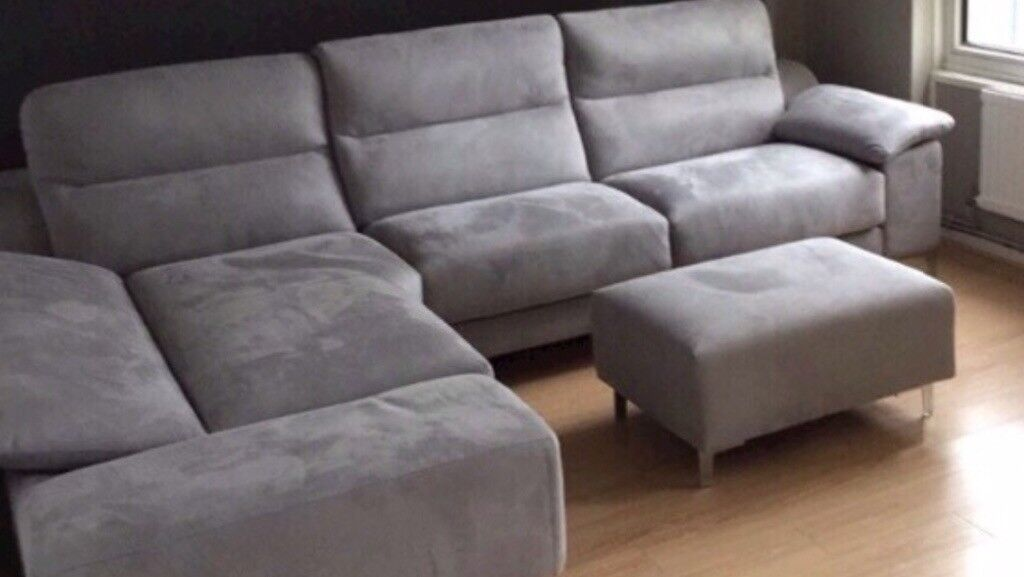 Guest Corner Sofa Bed From Dfs And Foot Stool In Angel London