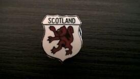 Scotland Lion Rampant Pin Badge