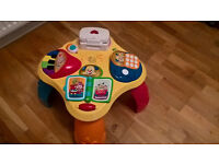 Child's Activity Table Bilingual (Polish and English)