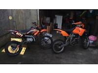 3 pitbikes for sale