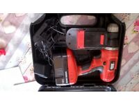 Black & Decker 18V drill - Spares and Repairs