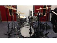 Ludwig downbeat maple drum kit