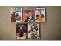 Al Murray DVD's X5
