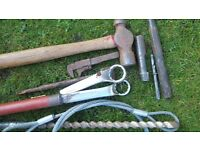 selection of tools as photo