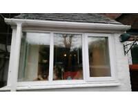 Upvc white windows