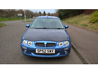 2002 Rover 25 1.4 Special Edition Spirit S 3-Door Hatch with MG ZR styling.