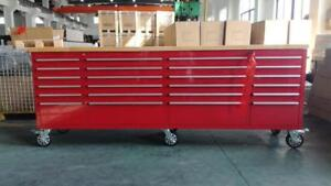 NEW 8 FT FATBOY TOOL BENCH TOOL CHEST TOOL BOX WORK BENCH WORK RED , ORANGE , GREEN