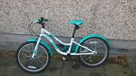 "Apollo Oceana Girls Hybrid Bike - 20"" - reasonable used condition"