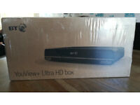 BT YOUVIEW ULTRA HD TV RECORDER NEW