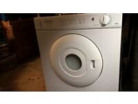 tumble drier with condensation kit