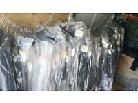 Wholesale, 210 men and women New business work jackets/skirts/trousers. Joblot bundle.