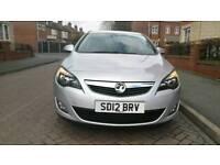 2012 Vauxhall Astra 1.6 i VVT 16v SRi 5dr Excellent Drive. Hpi Clear