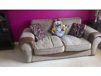 Comfortable Brown Sofa