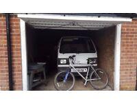 Single garage in block for sale