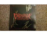Signed bullet for my valentine vinyl