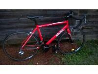 B'Twin Triban 3 Road Bike, 51cm Frame, 24 speed. Aluminium frame, carbon forks