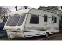 5 Berth Swift Accord 490. Sited with fees paid and family owned since new. Excellent condition