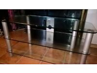 3 Tier Glass TV stand. Cheap. Ng3 area...