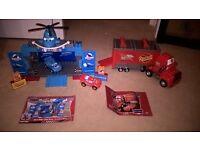 Disney Cars Mega Bloks And Lego Bundle