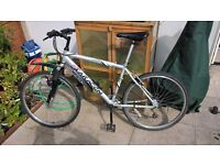 """18"""" Saracen mountain Bike for Sale with slick or knobly tyres town city bicycle Inch"""