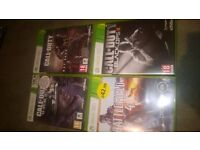XBOX 360 GAMES as new