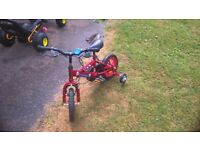 Boys small bike in very good condition