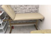 Massage/ Therapy Bed for sale. Excellent condition. Very sturdy metal frame.