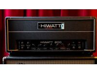 Hiwatt Custom 200 DR201 Bass / Guitar Amplifier / Amp Head Hand Wired